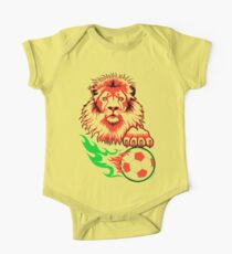 African Soccer Lion One Piece - Short Sleeve