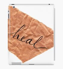 Brown Paper Messages iPad Case/Skin