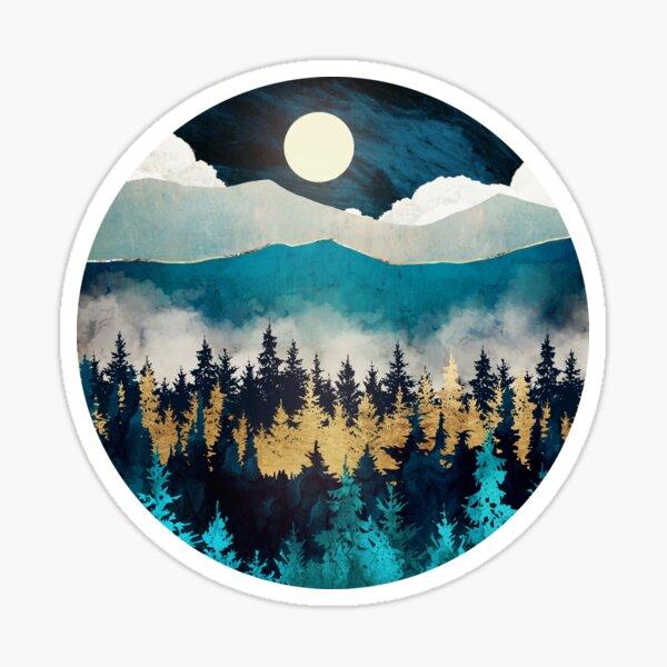 Evening Mist Sticker