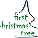 First Christmas Tree - Logo (R) by FirstTree