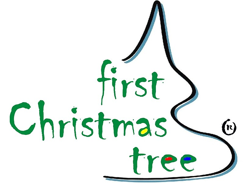 """""""First Christmas Tree - Logo (R)"""" By FirstTree"""