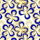 Blaue Blütenblätter #redbubble von mirimo