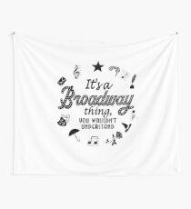 Tela decorativa Es un regalo de teatro divertido de Broadway.