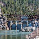 Box Canyon Dam and Railroad Trestle by Bryan D. Spellman