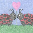 Loving Lady Bugs by emilykcreations