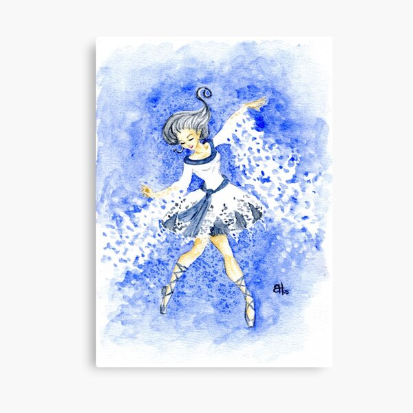 Snowdancer Canvas Print