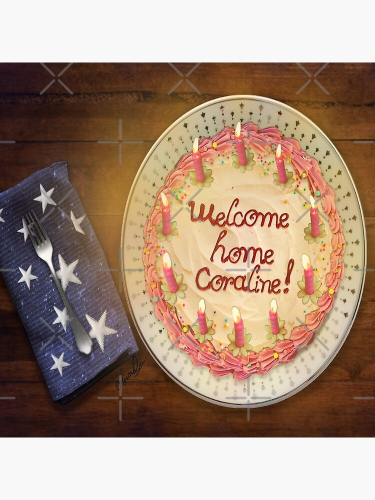 Welcome Home Coraline Tote Bag By Clovido Redbubble