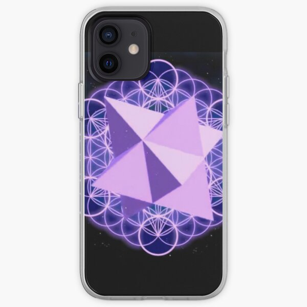 Flower of Life Human - symbol, illustration, design, crystal, jewelry, internet, shape, vector, sign, flag, vertical, sphere, 360-degree view, wide, gemstone, circle, shiny, precious gem, the media iPhone Soft Case