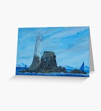 Fastnet Rock Lighthouse Greeting Card