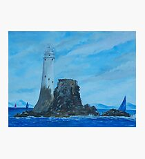 Fastnet Rock Lighthouse Photographic Print