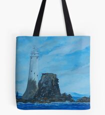 Fastnet Rock Lighthouse Tote Bag