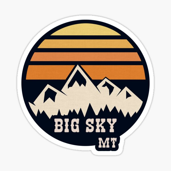 Big Sky Vintage Sticker