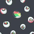 Sushi Rolls by jaxrobyn