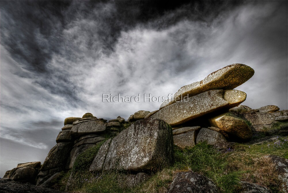 Helman Tor's Hand by Richard Horsfield