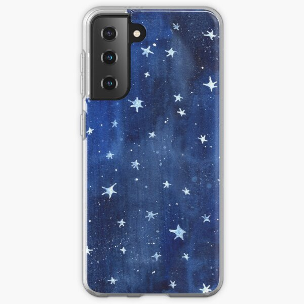 Star Watercolor Illustration Samsung Galaxy Soft Case