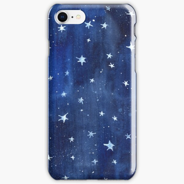 Star Watercolor Illustration iPhone Snap Case