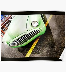 Grille on Grille Poster