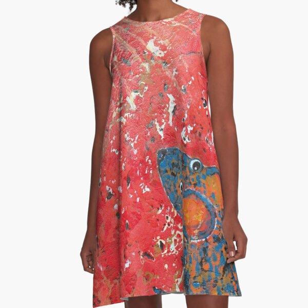 Blue Mouse Stargazing A-Line Dress