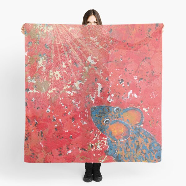 Blue Mouse Stargazing Scarf