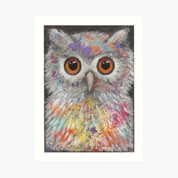 Fantasy Owl Art Print