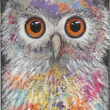 Fantasy Owl by peaceofpistudio