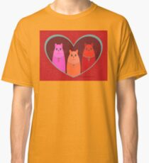 Three Wishes For Valentine's Day Classic T-Shirt