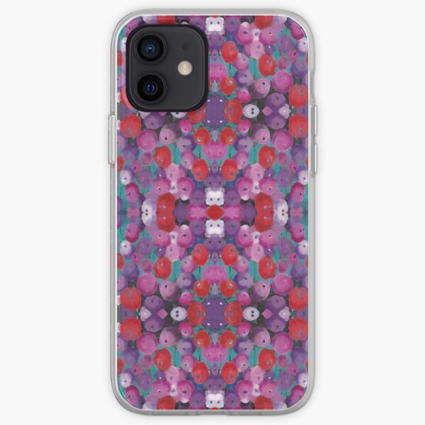 Wildflower Poppy Field iPhone Soft Case