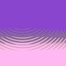«Rosa púrpura manan» de aapshop