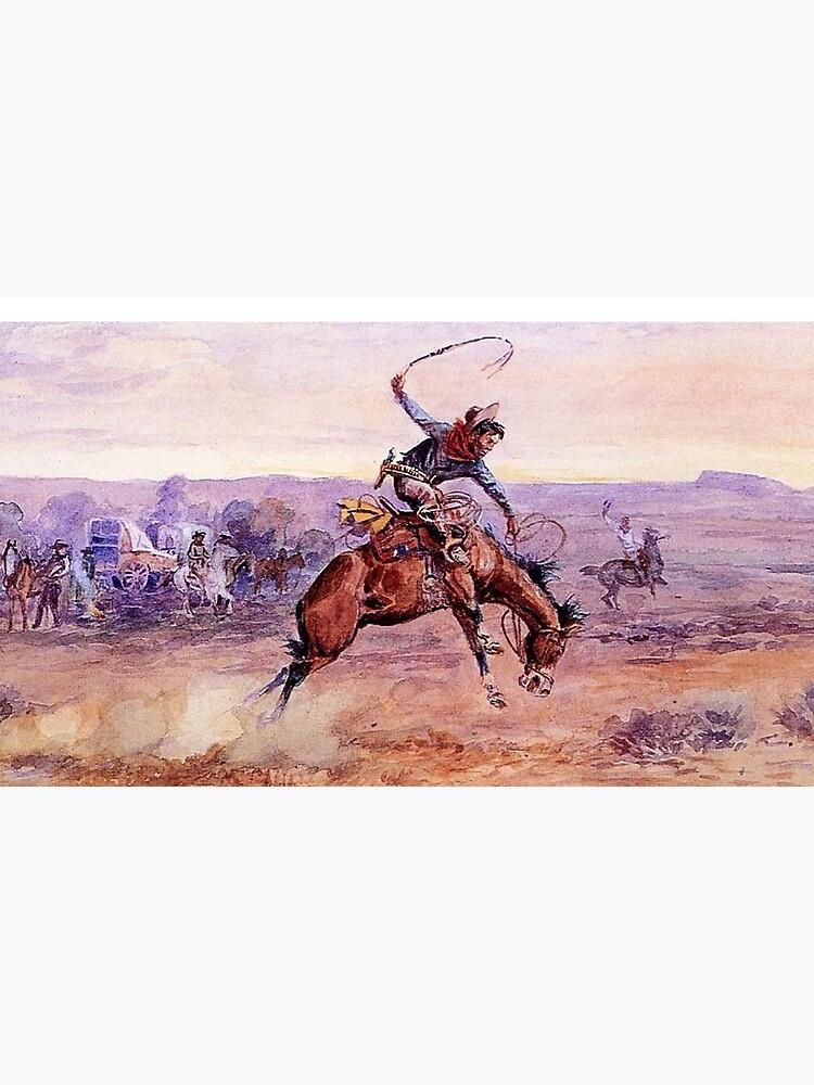 """""""Bucking Bronco"""" von Charles Russell von PatricianneK"""
