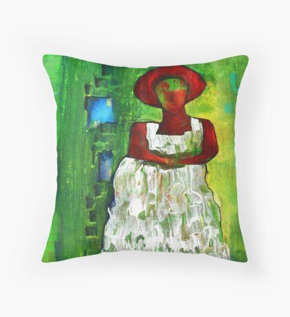 Madame celeste Throw Pillow