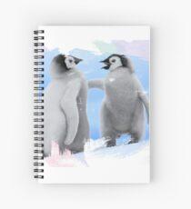 penguins Spiral Notebook