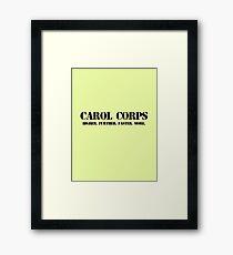 Carol Corps Framed Print