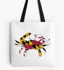 Maryland Flag Crab Tote Bag