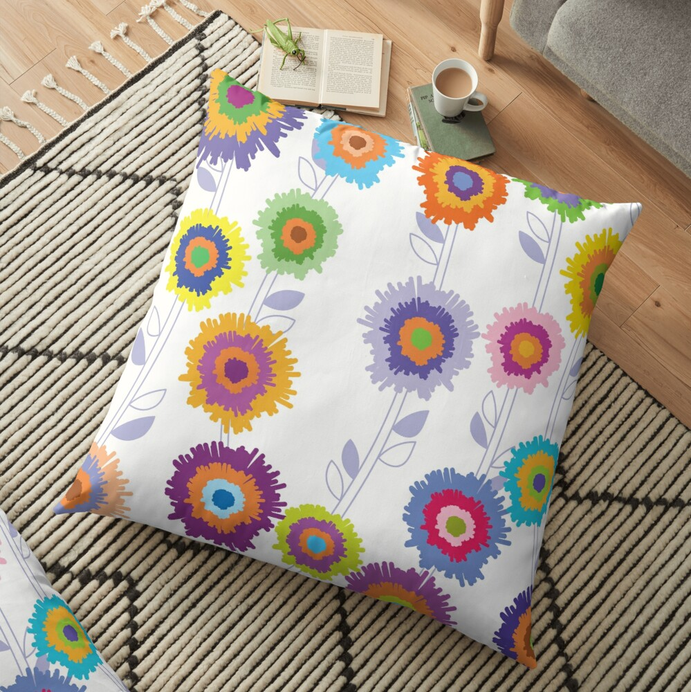 PINATA BLOSSOM Floor Pillow