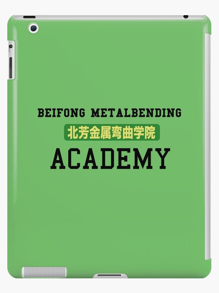 'Beifong Metalbending Academy' iPad Case/Skin by ashleighdearest