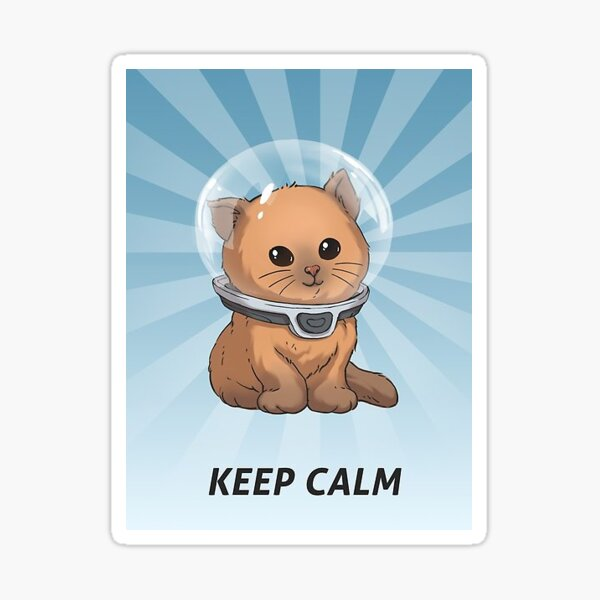 """Subnautica """"Keep Calm"""" Posters Sticker"""
