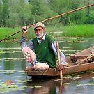Lotus Fishing by linaji