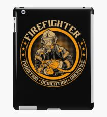 Firefighter by tradition iPad Case/Skin