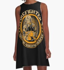 Firefighter by tradition A-Line Dress