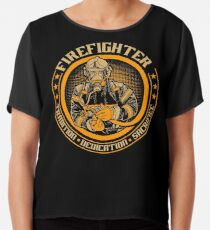 Firefighter by tradition Chiffon Top