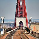 Rail Route Over Forth Bridge by Andrew Ness - www.nessphotography.com