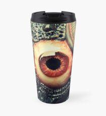 biomechanical eye Travel Mug