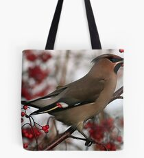 The Waxwing Tote Bag