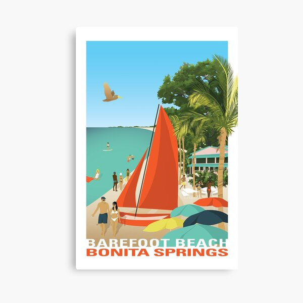 Bonita Beach Florida Canvas Print