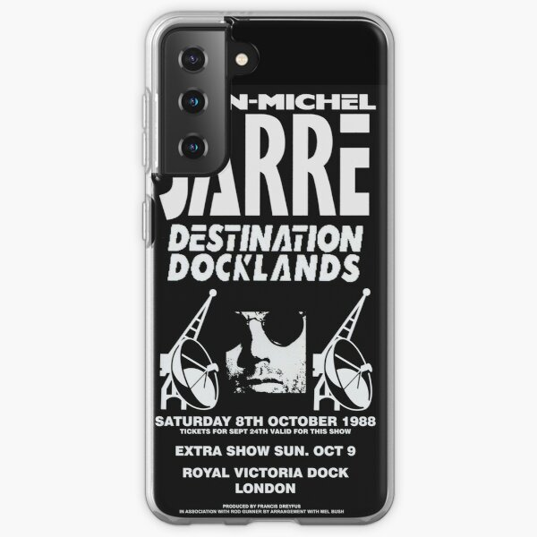 Jean-Michel Jarre Destination Docklands The London Concert 1988 Samsung Galaxy Soft Case
