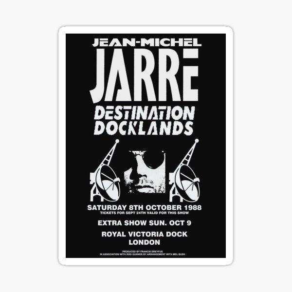 Jean-Michel Jarre Destination Docklands The London Concert 1988 Sticker