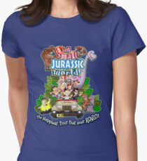 It's a Small Jurassic World (1A) Women's Fitted T-Shirt