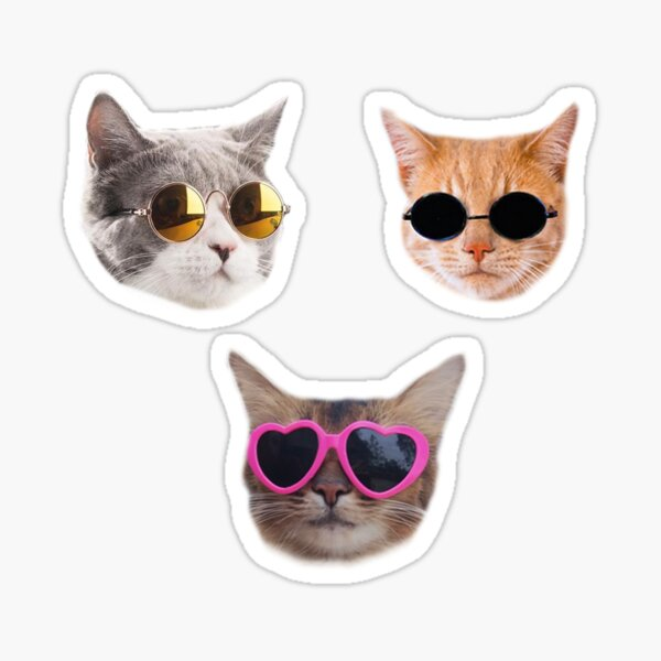 Cool Kitties Sticker-pack #1 Sticker