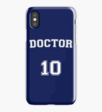 Doctor # 10 iPhone Case/Skin