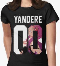 Yandere Jersey Tailliertes T-Shirt für Frauen